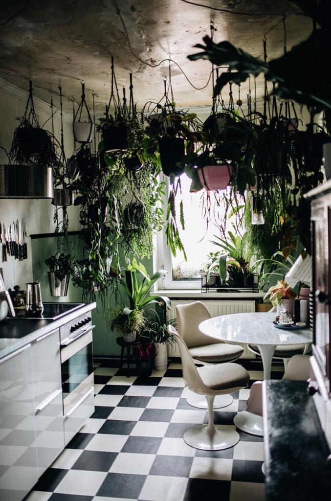 Appartement maximaliste - Déco intérieure colorée, inventive et chaleureuse - Cuisine