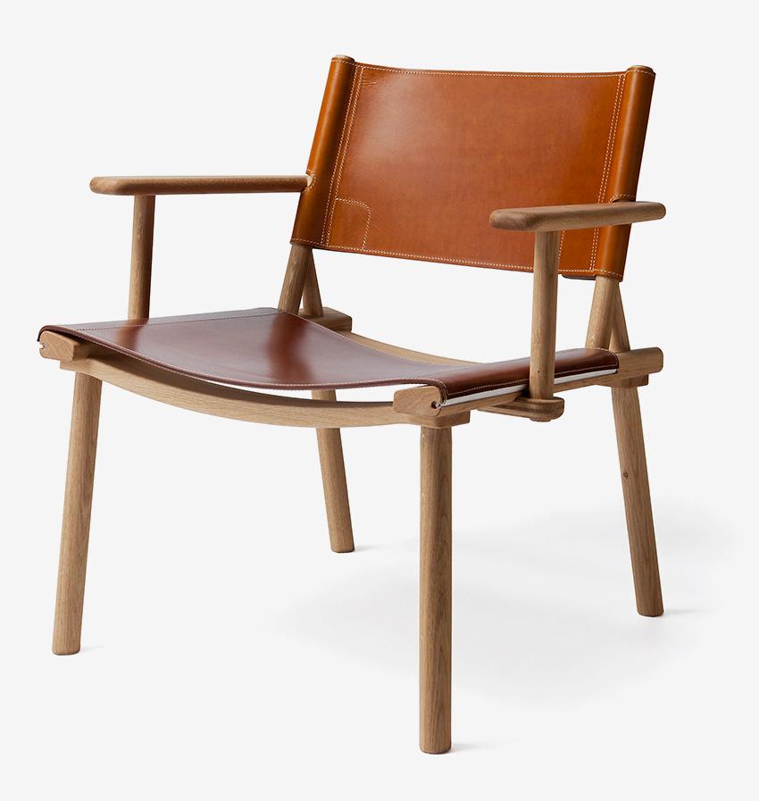 Fauteuil bois Jasper Morrison - Nikari. Fauteuil bois haut de gamme. Minimaliste et élégant.
