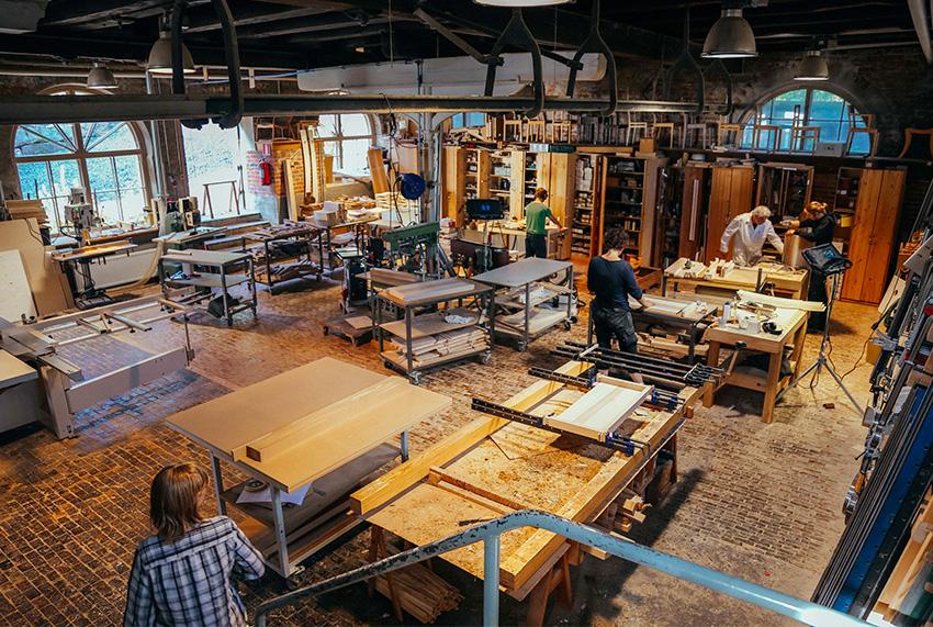 Atelier Nikari, fabrication de meubles en Finlande.