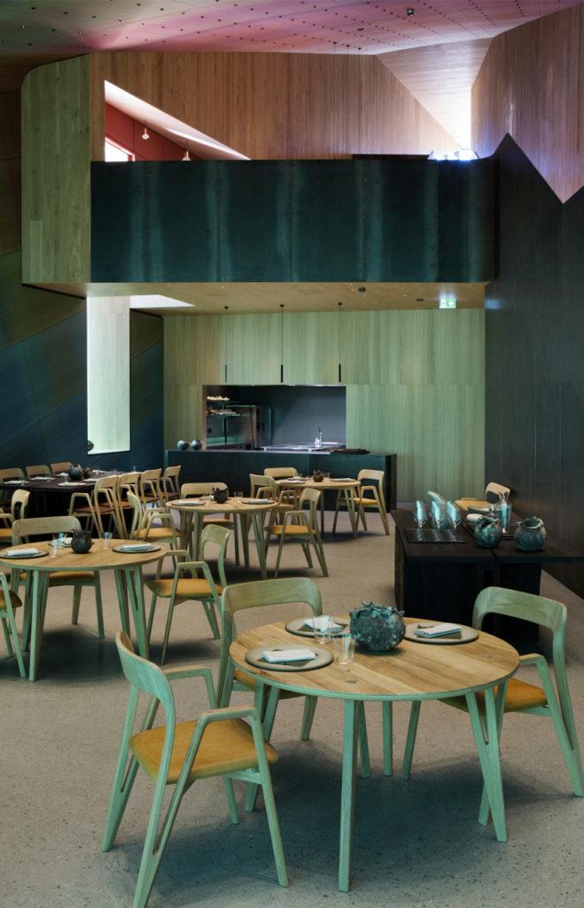 Under, Restaurant sous-marin en Norvège - Salle du restaurant